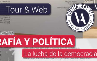 Video · Fotografía y Política · La lucha por la democracia en Panamá · Tour&Web